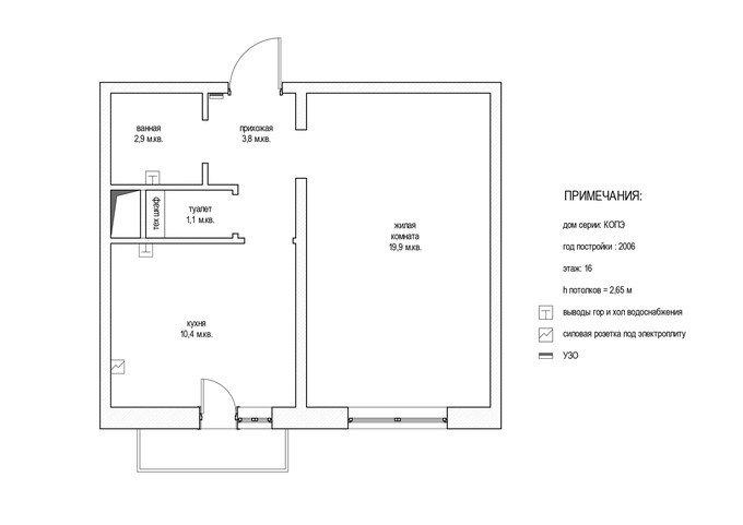 План квартиры не соответствует договору