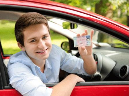 Фальшивые водительские права